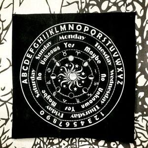 Oujia Tarot Pendulum Cloth / Mat